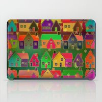 merry christmas iPad Cases featuring Merry Christmas! by Klara Acel