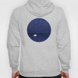 Zen sailing, ocean, stars Hoody