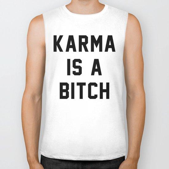 Karma is a Bitch Biker Tank