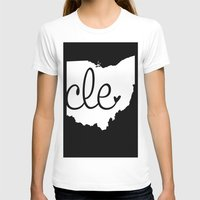 cleveland T-shirts featuring Love Cleveland by anastasia5