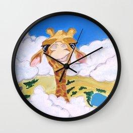 Towering Wall Clock