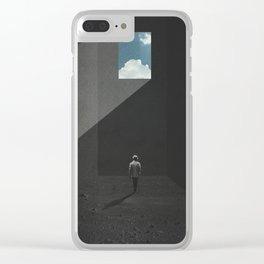 Nausea Clear iPhone Case