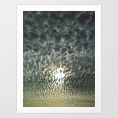 Mackerel Sky Art Print