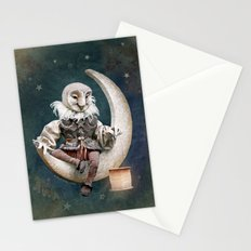 Rucus Studio Owl Poet Stationery Cards