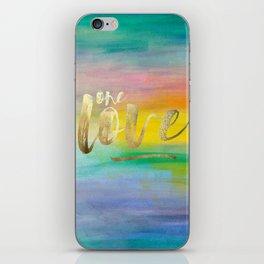 One Love, Ocean Sunrise 2 iPhone Skin