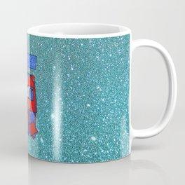 France – Glitter Coffee Mug
