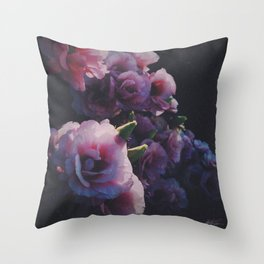 Floral One Throw Pillow