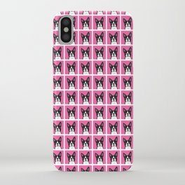 Boston Terrier Lilly iPhone Case