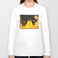 dungeons and dragons Long Sleeve T-shirts featuring DUNGEONS & DRAGONS - INTRO by Zorio