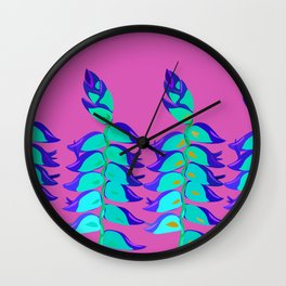 Helicones Wall Clock