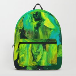 Green Galaxy Backpack