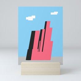 Geometric City Mini Art Print