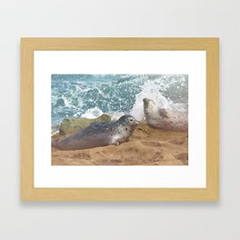 Seal of No Approval Framed Art Print