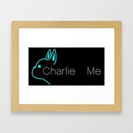 CHARLIE & ME BOUTIQUE Framed Art Print