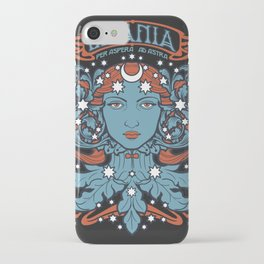 URANIA Per Aspera Ad Astra iPhone Case