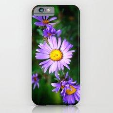 Purple Floral iPhone 6s Slim Case