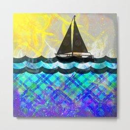 Sailing...Takes Me Away Metal Print