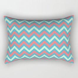 Tricolor Chevron 3 - more colors Rectangular Pillow
