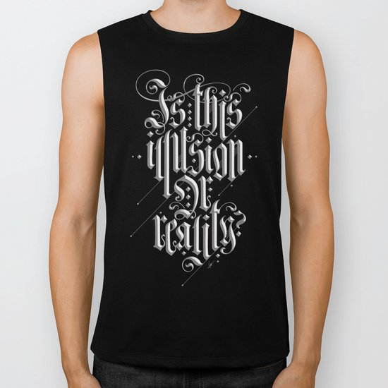 Is This Illusion Or Reality? Biker Tank