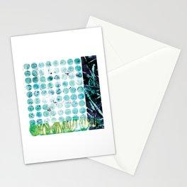 Pods & Dots, Blue Stationery Cards