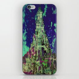 The Castle of Ghosts iPhone Skin