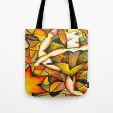 Dancer- Change of Season  Tote Bag