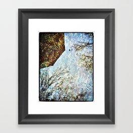 Reflective Perspective Framed Art Print