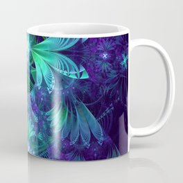 The Clockwork Kite Wings of a Blue-Green Dragonfly Coffee Mug