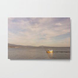 Lifeboat with You Metal Print