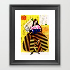 Beatrix Framed Art Print