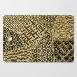 Japanese Patterns Cutting Board