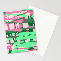 green adventure Stationery Cards