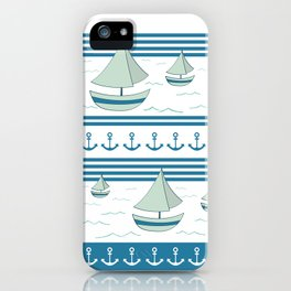 Sea lovers iPhone Case