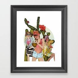 Hot N' Steamy Framed Art Print