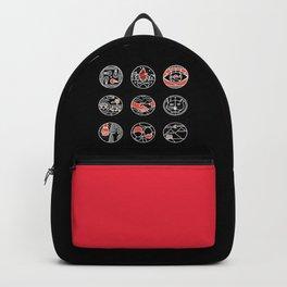 blurry icons II Backpack