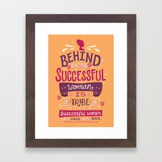 Successful women Framed Art Print