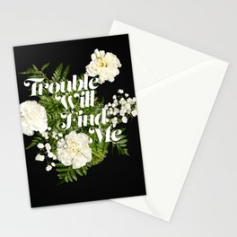 The National - Trouble Will Find Me Stationery Cards