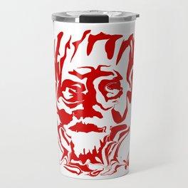 face5 red Travel Mug