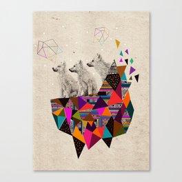 The Night Playground by Peter Striffolino and Kris Tate Canvas Print