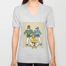 rocky loves emily Unisex V-Neck