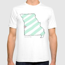 Home Is Where The Heart Is: Rich Hill, Missouri T-shirt