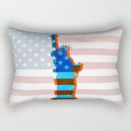 statue of liberty / USA Rectangular Pillow