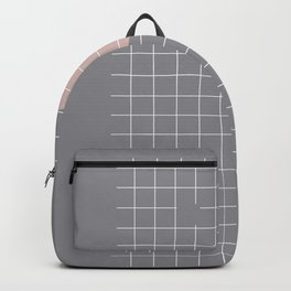 Neutral Gray #abstract #fall #color Backpack