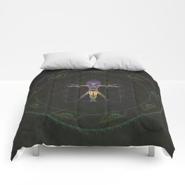 vitruvian man Comforters