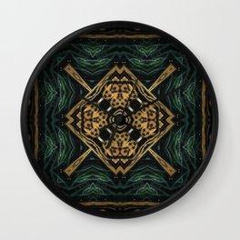 Earth Goddess Wall Clock
