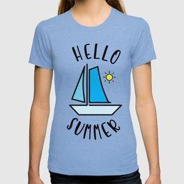 Hello Summer Sailing T-shirt