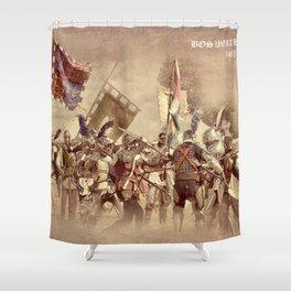 Battle of Bosworth Shower Curtain