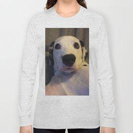 Skeptical Dalmatian Long Sleeve T-shirt