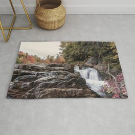 Waterfall at Rocky Gorge Rug