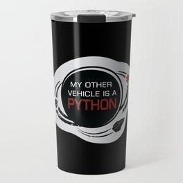 MY OTHER VEHICLE IS A PYTHON Travel Mug